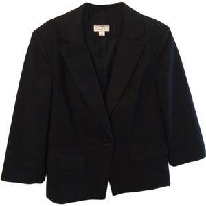 Ann Taylor Loft Black Blazer 8